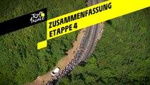Zusammenfassung - Etappe 4 - Tour de France 2019