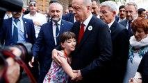 Erdogan is megemlékezett a srebrenicai mészárlás áldozatairól Szarajevóban