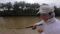 Surprise Catch in a Remote Papua New Guinea River
