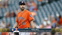 The Jim Rome Show: Justin Verlander accuses MLB of juicing baseball for more home runs