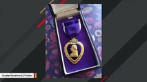 Discovery Of Purple Heart Medal At Goodwill Store Prompts Search For Family