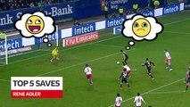 Bundesliga: Top 5 Saves from René Adler