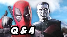 Deadpool Red Band Trailer Q-A - Where Is X Force