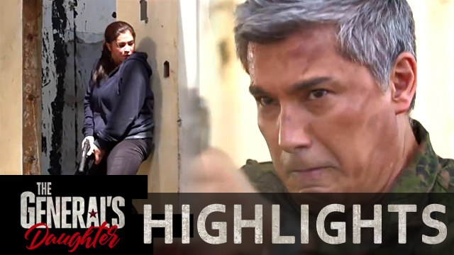 Marcial and Rhian fight Tiago's men | The General's Daughter
