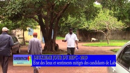 BEPC 2019 à Labé : état des lieux et sentiments mitigés de certains candidats