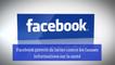 Facebook prévoit de lutter contre les fausses informations sur la santé