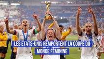 Les Etats Unis remportent la Coupe du monde féminine