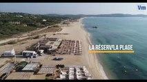 La mue des plages de Pampelonne révélée depuis les airs