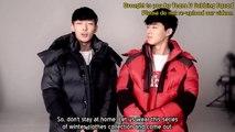 Hanbin and Bobby for Addidas Behind ENG Sub