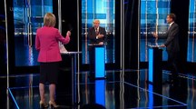 UK's Johnson and Hunt clash over Brexit,Trump in first TV debate