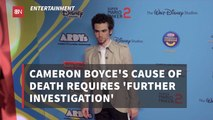 Examiners Are Trying To Determine Cameron Boyce's Cause Of Death