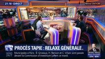 Procès Tapie: Relaxe générale (1/2)