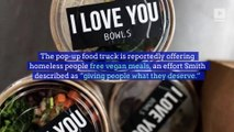 Jaden Smith Opens Free Vegan Food Truck for Homeless