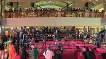 Amir Khan holds public workout in Saudi Arabia ahead of Billy Dib bout