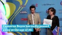 Cameron Boyce Passes Away at 20 Years Old