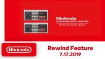 Nintendo Switch Online-  Nouvelle fonctionnalité, le Rewind