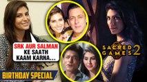Elnaaz Norouzi On Working With SRK, Salman, Saif Ali Khan, Nawazuddin   Sacred GAMES 2