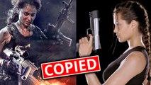 Dhaakad | Kangana Ranaut COPIES Angelina Jolie's Lara Croft Look | Diwali 2020