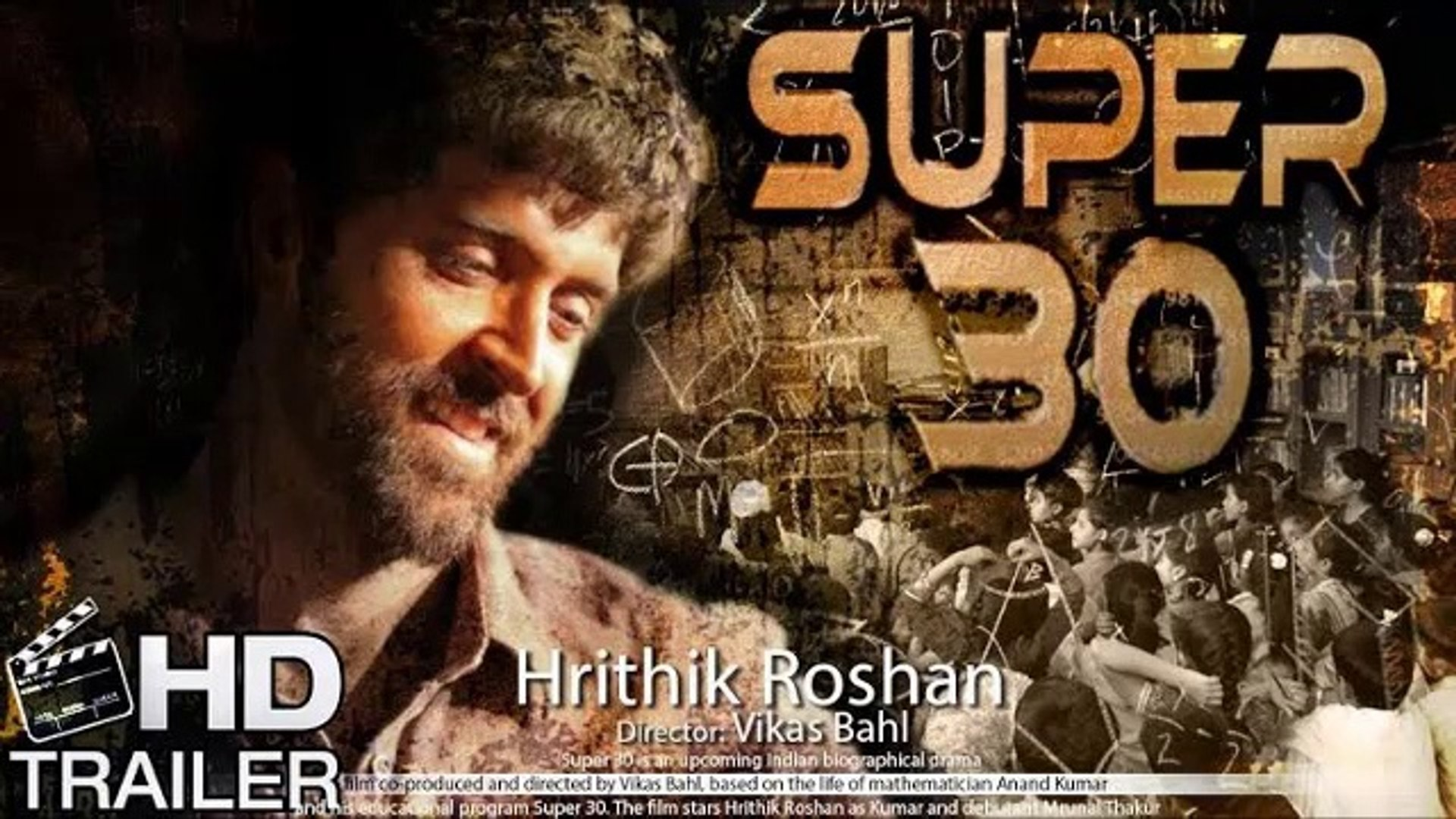 Super 30 Film Part 1 Video Dailymotion
