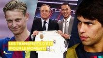 Les 5 meilleurs transferts de football cet été (pour l'instant)