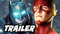 Batman v Superman Viral Teaser Trailer and The Flash Arrow Q-A