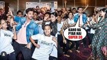 Too Cute Hrithik Roshan and Mrunal Thakur dance with NGO kids in Kaho na Pyaar hai Style | Super 30 |