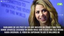 """Pillan a Shakira bañándose (y en la foto se ve esto): """"¡Que"""