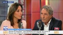 """Brune Poirson: """"En France, l'équivalent d'une route de moquette Lille-Marseille est jetée chaque année"""""""