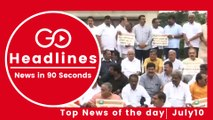 Top News Headlines of the Hour (10 July, 12:40 PM)