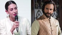 Karisma Kapoor shocking revelation on Saif Ali Khan in Dance India Dance | FilmiBeat