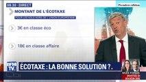 EDITO - Pourquoi l'écotaxe pénalisera les consommateurs moins fortunés et Air France