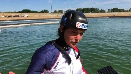 L'Equipe de France Senior de Slalom en stage à. Vaires-sur-Marne !