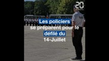 Comment les policiers se préparent-ils à défiler sur les Champs-Elysées?