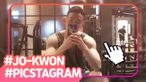 [Showbiz Korea] Today's StarPic! Jo Kwon(조권) & Han Chae-young(한채영)