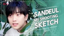 [Pops in Seoul] One Fine Day(날씨 좋은 날) ! Sandeul(산들)'s MV Shooting Sketch