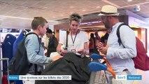 Une écotaxe sur les billets d'avion en 2020