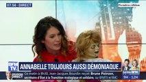 """Quand la poupée """"Annabelle"""" fait irruption sur le plateau de Première édition"""