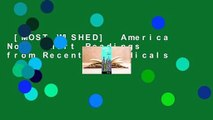 [MOST WISHED]  America Now: Short Readings from Recent Periodicals