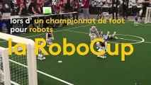 Avec la RoboCup, les robots ont aussi leur Coupe du monde de foot