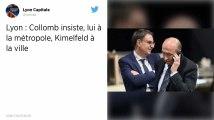 Élections municipales. À Lyon, Collomb propose un mandat partagé à Kimelfeld