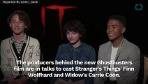 New 'Ghostbusters' Eyes Carrie Coon And Finn Wolfhard