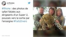 Les gérants d'un Super U démissionnent après la diffusion de photos de leur safari de chasse