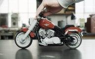Harley-Davidson Fat Boy de Lego