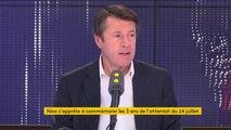 """Attentat du 14-juillet à Nice : """"La plaie sera toujours ouverte"""", dit Christian Estrosi qui appelle les juges du parquet antiterroriste a aller interroger la """"voix de daesh"""" qui a revendiqué l'attentat, """"qui est toujours détenu en Syrie"""""""