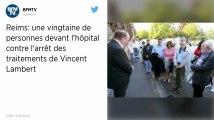Vincent Lambert. Un rassemblement devant l'hôpital de Reims contre l'arrêt des traitements