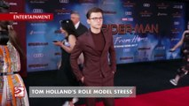 Tom Holland's role model stress