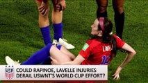 How Will Megan Rapinoe, Rose Lavelle Injuries Affect USWNT in WWC Final