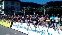 Départ triomphal de la Caravane du Tour de France à Saint-Dié