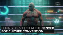 Dave Bautista: Actor Talks About His Nightmarish Audition For The Role Of Drax In Guardians Of The Galaxy
