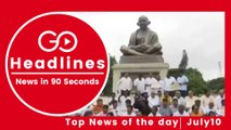 Top News Headlines of the Hour (10 July, 3:30 PM)